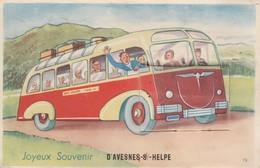 AVESNES Sur HELPE  - Carte à Système - Joyeux Souvenir  ( 10 Vues ) - Avesnes Sur Helpe