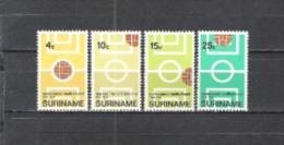 Suriname 1970 Sport Spiele Mannschaftssport Fußball Soccer Football Organisationen Ballspiele, Mi. 584-7 ** - Suriname