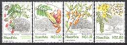 Namibia Südwestafrika SWA 1997 Pflanzen Plants Bäume Trees Wälder Savannen Früchte Blätter Blüten, Mi. 867-0 ** - Namibia (1990- ...)
