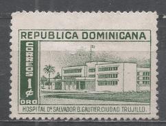 Dominican Republic 1952. Scott #447 (M) Dr. Salvador B. Gautier Hospital * - Dominicaine (République)