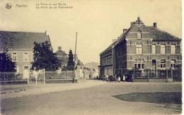 Haelen Halen De Markt En De Nederstraat 1919 - Halen