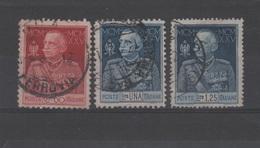 1925-26 Giubileo Del Re Serie Cpl US - Oblitérés
