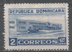 Dominican Republic 1953, Scott #454 Treasury Building, Ciudad Trujillo (M) - Dominicaine (République)