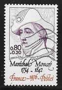 N° 1880  FRANCE  -  OBLITERE  -  MARECHAL MONCEY -  1976 - France