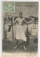 Madagascar - Nossi Bé Porteur D'eau Cachet Bleu 1926  ( 20 ) - Madagascar