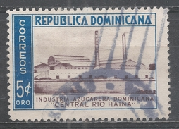 Dominican Republic 1953. Scott #455 (U) Sugar Industry, ''Central Rio Haina'' * - Dominicaine (République)