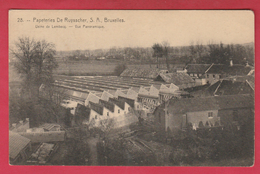 Lembeek / Lembecq - Papeteries De Ruysscher - Usine - Vue Panoramique ( Verso Zien ) - Halle