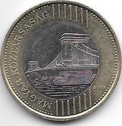 Hungaria 200 Forint 2009  Km 826 - Hongrie