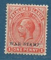 Falkland - Yvert N° 38 *  -  Cw 9703 - Falkland Islands