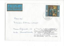 16045 - Christkindl Cover 21.12.1984 Pour Innsbruck + über Christkindl - Noël