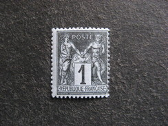 TB N° 83, Neuf XX . - 1876-1898 Sage (Type II)