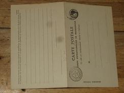 Entier Postal Avec Reponse CORPS EXPEDITIONNAIRE DE MADAGASCAR  , Cachet 1895 ........... HR146 - Madagascar (1889-1960)