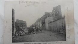 Louppy Le Chateau - Vue Apres Bombardements - France