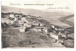 CPA...   SAINT MARCEL L'ECLAIRE..... VUE GENERALE...  TBE...1923... - Sin Clasificación