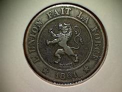 Belgique 10 Centimes 1861 FR - 1831-1865: Léopold I