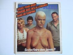 HARA KIRI  (Journal Pour Adultes) Rasée Pour Avoir Couché Avec Des Allemands Dans Un Camping  N° 240 De Septembre 1981 - Humour