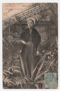 """Une Narbonnaise - Costume Local -- Cachet """" ALGER """" De 04-1904. - Narbonne"""
