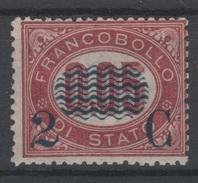1878 Servizio Di Stato 2 C. Su 0,05 Nuovo MLH - 1861-78 Victor Emmanuel II.