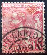 MONACO             N° 15               OBLITERE     2° CHOIX - Monaco