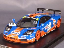 HPI Racing 8266, McLaren F1 GTR, Le Mans 1996, R. Bellm - J. Weaver - J.J. Lehto, 1:43 - Voitures, Camions, Bus