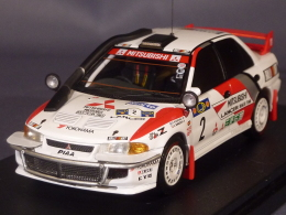 HPI Racing 8552, Mitsubishi Lancer EvoIII #2, Safari Rally 1995, Shinozuka - Kuukkala, 1:43 - Autres