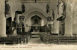 Piennes-Onvillers  (80. Somme)  Intérieur De L'Eglise - Other Municipalities