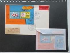 Urugugay 1975 Flugpost Block Nr. 25 Airmail / Expres Brief Und 1x Block 25 ** Katalogwert 84€ ++ Olympische Spiele - Uruguay
