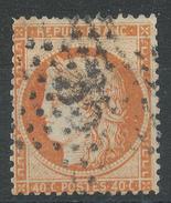 Lot N°33674  Variété/n°38, Oblit étoile Chiffrée 35 De PARIS (R. Du Luxembourg), Filet EST - 1870 Siege Of Paris