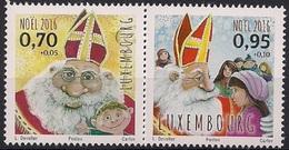 2016 Luxemburg Mi. 2107-8  **MNH   Weihnachten.
