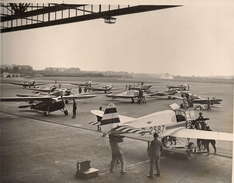 Aviation - Deutschlandflug 1933 - Berlin - Tempelhof - Photographie