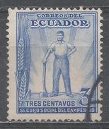 Ecuador 1936. Scott #RA35 (U) Worker ** - Equateur