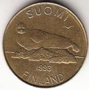 FINLANDIA 1993   5 MARKKAA  BRONCE    EBC CN4287 - Finlandia