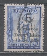 Ecuador 1936. Scott #RA36 (U) Worker ** - Equateur