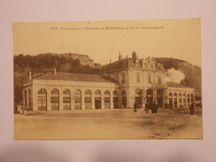 Carte Postale - BESANCON (25) - Gare De La Mouillère Et Fort Beauregard (150/130) - Besancon