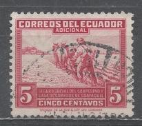 Ecuador 1940. Scott #RA48 (U) Farmer Plowing ** - Equateur