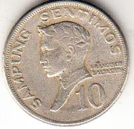 FILIPINAS  1972. 10 SENTIMOS. FRANCISCO BALTASAR  EBC     CN4288 - Filipinas