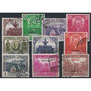 ES620STVCPA-LFTU620/29TARSC.España. Spain.Espagne.UNION POSTAL PANAMERICANA.1931.( Ed 620/29º) - Sin Clasificación