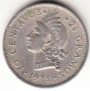 REPUBLICA DOMINICANA 1973. 10 CENTAVOS. CACIQUE INDIGENA  EBC     CN4288 - Dominicaine