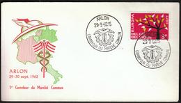 Belgium Arlon 1962 / Europa CEPT / FDC - 1962