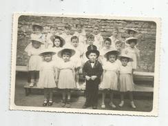 Cp , Carte Photo , école , Photo De Classe Enfantine De Mme Chassaigne , 1954 - Ecoles