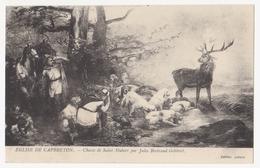 CPA 40 EGLISE DE CAPBRETON Chasse De Saint Hubert Par Jules Bertrand Gélibert - Capbreton