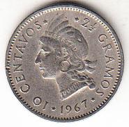 REPUBLICA DOMINICANA 1967. 10 CENTAVOS. CACIQUE INDIGENA  EBC     CN4288 - Dominicaine