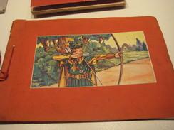 4 Complete Sets1938 To 1950 De Beukelaer, In Albums, Disney, Chocolat Cards Robin Hood,3 Pigs, Peter Pan, Pinocchio VG - Chocolat