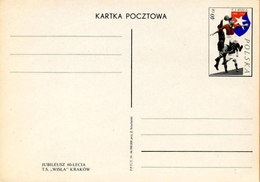 POLOGNE - Entier Postal 1966  - Football Club T.S. Wisla A 1906 / 1966 - Stamped Stationery