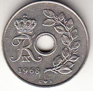 DINAMARCA 1968 25 ÖRE. REY FREDERIK IX   EBC     CN4288 - Dinamarca