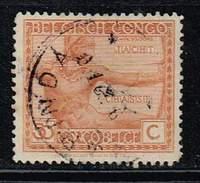 Belg. Kongo 1925, Michel # 80 O     Indigenous Portraits And Handworks - 1923-44: Gebraucht