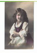 CPA-1919-ENFANT-FILLES PORTRAIT-UNE JOLIE FILLETTE DES PAYS-BAS-VOIR TIMBRE - Portraits