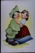 CARICATURA DI ETTORE NADIANI 1943 - Illustratori & Fotografie