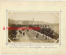 England-LONDRES-photographie Ancienne-Thames-Quai Victoria-aiguille De Cléopatre-Somerset-non Collée - Photographs