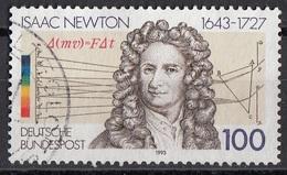 1771 Germania 1993 Isaac Newton Matematico Astronomo Fisico Teologo Germany Bundespost - Theologians
